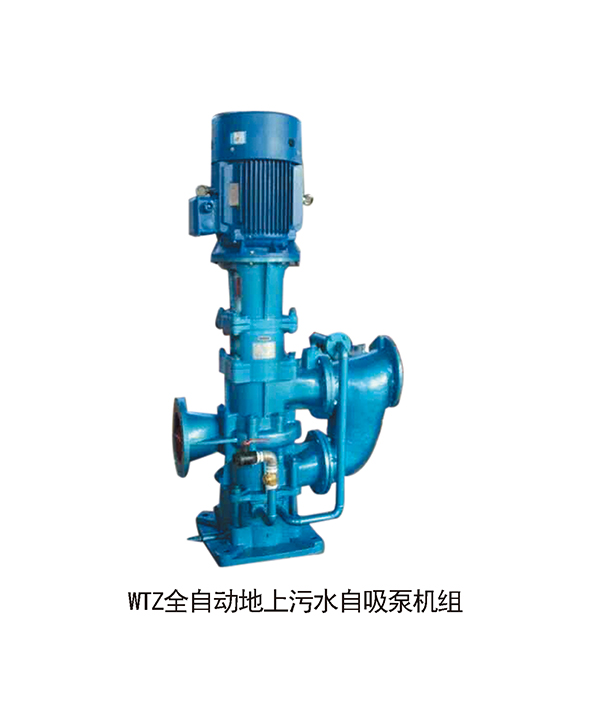 WTZ全自动地上污水自吸泵机组